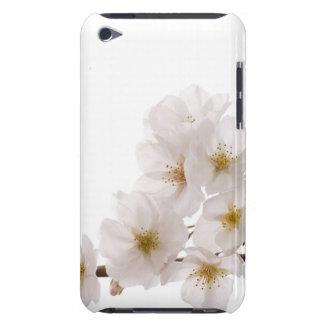 Pretty White Cherry Blossoms iPod Touch Case