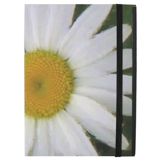 Pretty white daisy floral photo art