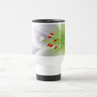 Pretty White Easter Lily Coffee Mugs