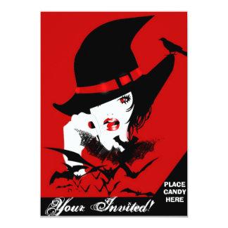 Pretty Wicked 13 Cm X 18 Cm Invitation Card