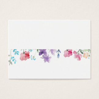 Pretty Wildflowers | Rustic Wedding Place Card