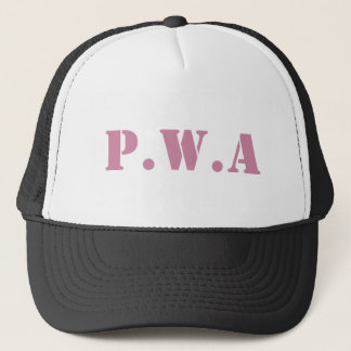 Pretty With Attitude Trucker Trucker Hat