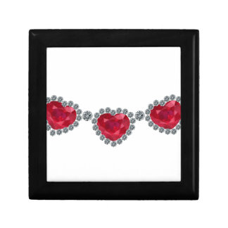 Pretty Woman Ruby Necklace Small Square Gift Box
