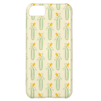 Pretty Yellow Spring Daffodils iPhone 5C Case