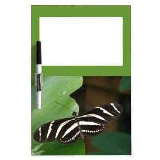 Pretty Zebra Longwing Butterfly Memo Board