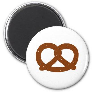 Pretzel 6 Cm Round Magnet