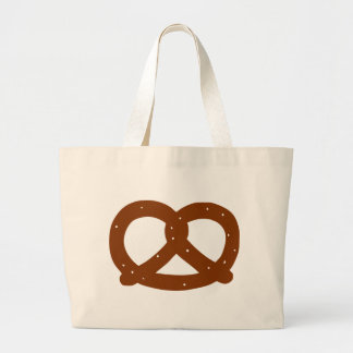 Pretzel Large Tote Bag