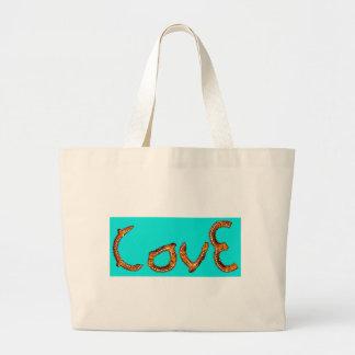 Pretzel Love Tote Bags