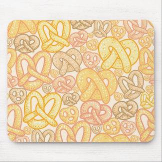 Pretzel Pattern Mouse Pads