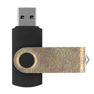 Pretzel Pattern USB Flash Drive