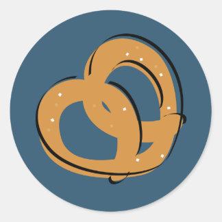 Pretzel Twist Classic Round Sticker