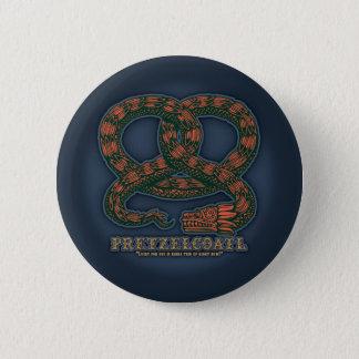 Pretzelcoatl II 6 Cm Round Badge