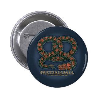 Pretzelcoatl II Pin