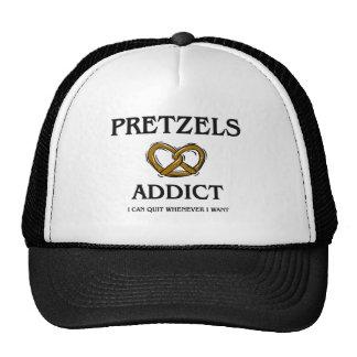 Pretzels Addict Hats