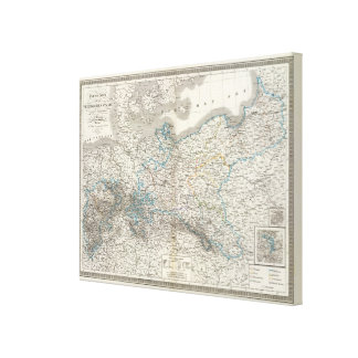 Preussische Staate - Prussian State Canvas Print