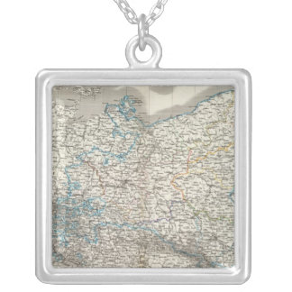 Preussische Staate - Prussian State Silver Plated Necklace