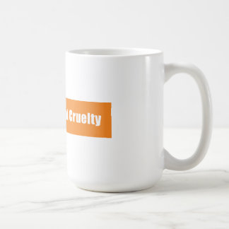 Prevent Animal Cruelty Classic White Coffee Mug