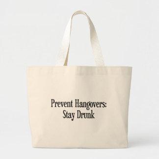 Prevent Hangovers Jumbo Tote Bag