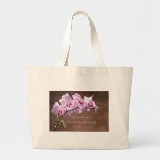 Preventative Meds Orchid Large Tote Bag