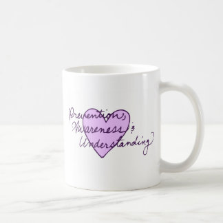 Prevention Awareness Understanding Basic White Mug