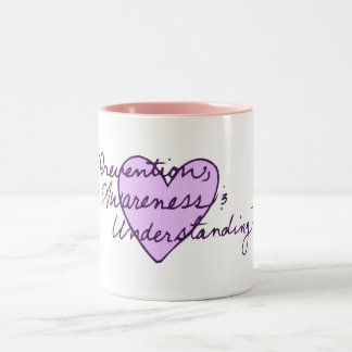 Prevention Awareness Understanding Two-Tone Mug