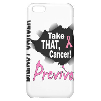 Previvor 7 Breast Cancer iPhone 5C Cases