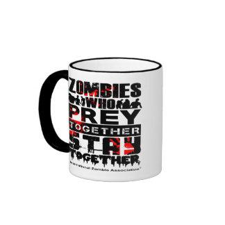 PREY Together : Stay Together Ringer Coffee Mug