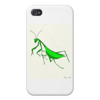 Preying Mantis iPhone 4 Cases