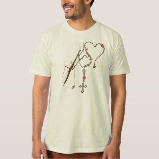 Preying Mantis Praying With Everything He's Got! T-Shirt