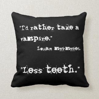 Preying On Time [Less Teeth] Cushion