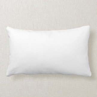 Preying On Time [Less Teeth] White Lumbar Cushion