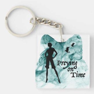 Preying On Time [Smoke] Single Side Key Chain
