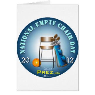 PREZ.info - Empty Chair 2 Card