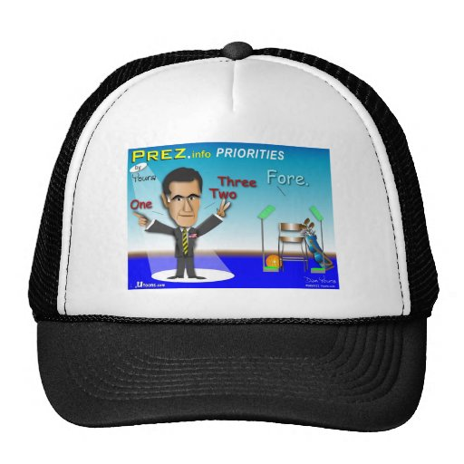PREZ.info - FORE Mesh Hat