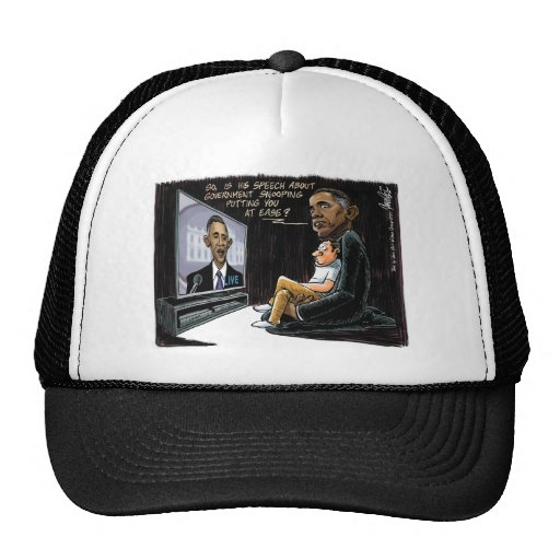 Prez Obama Puts US at Ease about NSA Spying Mesh Hat