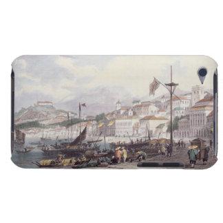 Pria Grande, Macao, c.1850 (colour litho) iPod Case-Mate Cases