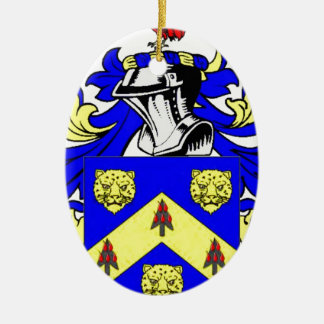 Price Coat of Arms Christmas Tree Ornaments
