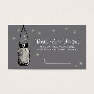 PRICE TAG Mason Jar & Fireflies