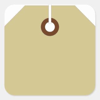 Price Tag Square Sticker