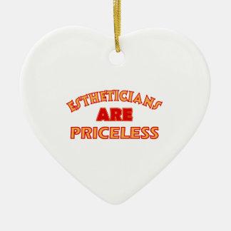 PRICELESS Esthetician designs Christmas Ornament