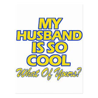 priceless husband designs postcard