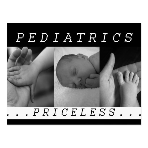 Priceless - Pediatrics - BABY / INFANT - NURSE Postcard