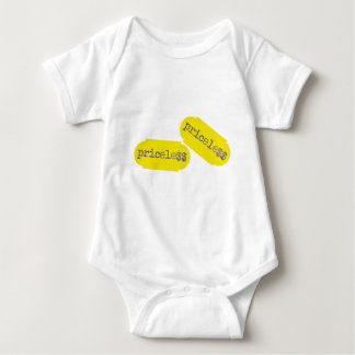 """Priceless"" shop price sticker Baby Bodysuit"