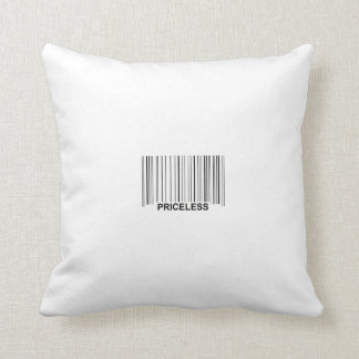 Priceless UPC/ $ MoJo Pillow Throw Cushions