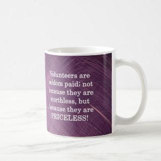 Priceless Volunteers Coffee Mug