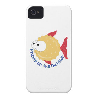 Prickly on the Outside iPhone 4 Case-Mate Case