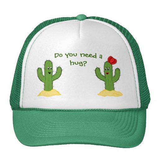 Prickly Pair Cartoon Cactus Guy & Gal