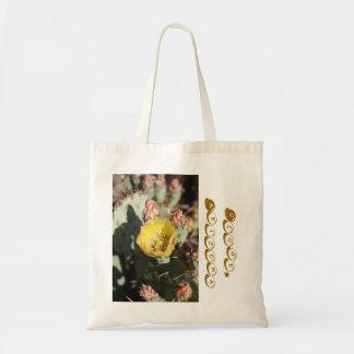 Prickly Pear Cactus,  Globe, Arizona Budget Tote Bag