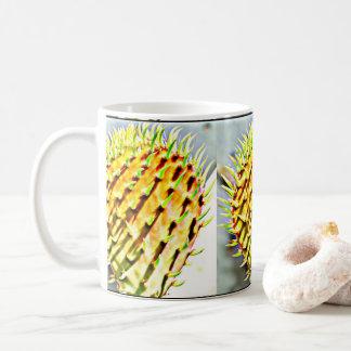 Prickly Pear Cactus Paddle Coffee Mug