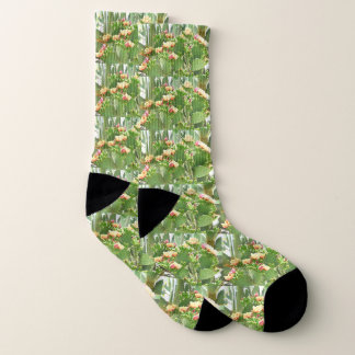 Prickly Pear  Cactus Unisex Socks